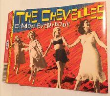 THE CHEVELLES C'Mon Everybody CD EP 2001 oz perth power pop little steven