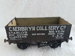 Slaters O Gauge Caerbryn Colliery Co Plank Wagon Ready Built