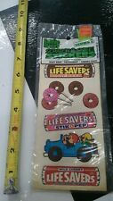 NOS 80's Lifesavers Scratch and Sniff Sticker Set #2