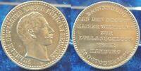Preußen-hamburg Medalla Conmemorativa Zollanschlussfeier 1888 IN Hamburg EBC