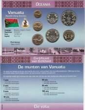 Muntset Kon.Ned.Munt Oceania UNC - Vanuatu