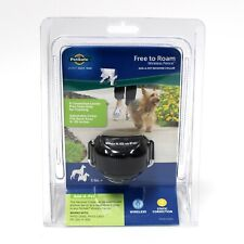 New listing New Sealed PetSafe Free To Roam Wireless Fence Receiver Collar Black Pif00-15002