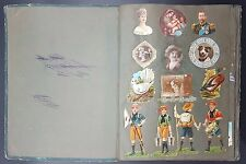 Vintage Scrap Album c1910's With Scouting & Military Interest, Lifebuoy Soap Ad