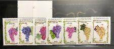 Uzbekistan Postage Stamps 7 stamps 2004 Grapes