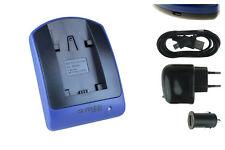 Cargador (USB) para Sony NP-FV30, NP-FV50, NP-FV70, NP-FV90, NP-FV100