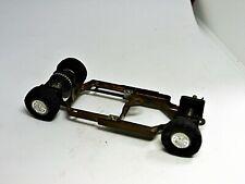 Strombecker 1/32 Slot Car Adjustible Brass Frame Chassis