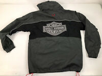 "Mens Harley Davidson Rain Reflective Jacket  Size XS (measures 23"" across chest)"