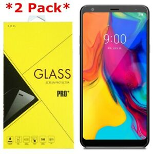 2-Pack Premium Tempered Glass Screen Protector For LG Stylo 5 / Stylo 5+ Plus