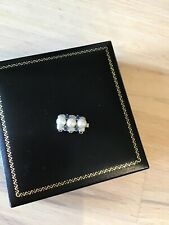 14 kt white gold pearl clasp