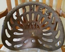 Antique Cast Iron Jones Rake D222 Tractor Implement Seat Farm Equipment Chicago