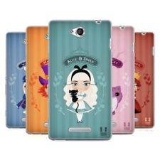Fundas y carcasas Head Case Designs para teléfonos móviles y PDAs Sony