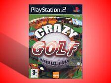 CRAZY GOLF WORLD TOUR PER PLAYSTATION 2 PS2 NUOVO SIGILLATO! VERSIONE ITALIANA!