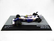 Formule 1 Williams Renault FW16 Ayrton Senna GP Brésil 1994 1/43 Voiture F1 715