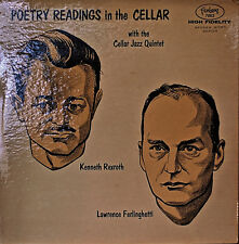 KENNETH REXROTH/LAWRENCE FERLINGHETTI: Poetry Readings in the Cellar-1957LP MONO