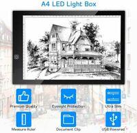 A4 USB LED Artist Tattoo Stencil Board Light Box Tracing Drawing Board Pad Table