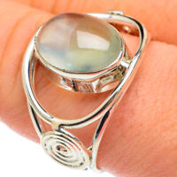 Prehnite 925 Sterling Silver Ring Size 9.75 Ana Co Jewelry R61767F