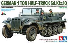 Tamiya WWII German 1ton Half-Track Sd.Kfz.10 Transporter model kit 1/35