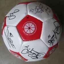 Ballon LFC Liverpool FC Saison 2000-2001 20 signatures Owen, Gerrard etc