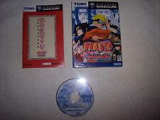 GEKITOU NINJA TAISEN NARUTO, NINTENDO GAMECUBE/GC/GAME CUBE, JAP/IMPORT/JP