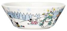 """Moomin Under The Christmas Tree Bowl 6"""" Arabia Iittala Finland 2013"""