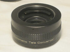 Vintage Vivitar Automatic Tele Converter 2x-1 camera Lens Japan photography