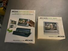 Archos 605 Wifi Digital Media Player with Dvr Station Gen 5 Brand New in Box