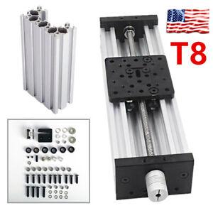 3D Printer Z-axis Lead Screw T8 DIY C-beam CNC Sliding Table 150mm Linear Kit