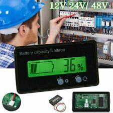 12V-48V LCD Battery Capacity Indicator Digital Voltmeter Voltage Tester Monitor