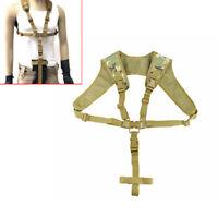 Tactical Harness Rifle Sling Adjustable Hanging Shoulder Gun Strap System