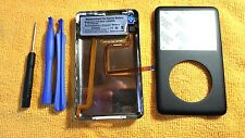 iPod classic 6th 160GB THICK Black back cover front case Rebuild kit