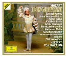 Mozart: Don Giovanni KARAJAN RAMEY Baltsa Battle SINTOW 3 CD BOOK SET used
