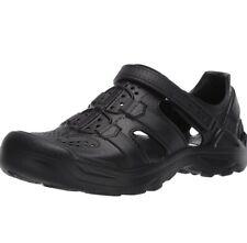 Men's Teva OMNIUM DRIFT 1107829 Black Fisherman Sandal Shoes M 11
