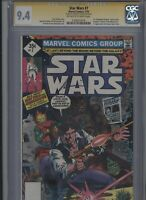 Star Wars #7 CGC 9.4 SS Howard Chaykin - 1st expanded universe story