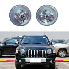 for Jeep Compass 2007-2010 Auto Front Fog Light Lamps Housing (No Bulbs) 2PCS