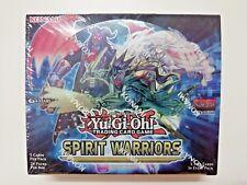 Yu-Gi-Oh - Spirit Warriors Booster Box - Sealed ENG box