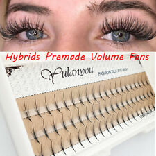 Long Volume Lash Eyelashes Extension Premade Volume Fan Hybrid Fan Lashes