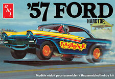 AMT 1/25 57 Ford Hardtop Street / Strip 3 Engine Options PLASTIC MODEL KIT 1010
