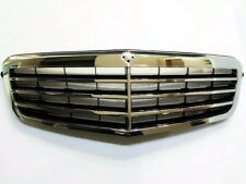 for Mercedes E CLASS W212 Assembly Black Grille with Chrome Frame , Modified NEW