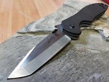 Kershaw Emerson CQC-7K Tanto Knife Folding Pocket Wave Feat Black G10 6034T
