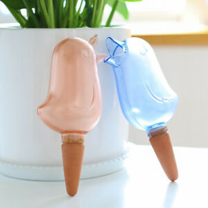 2/4PCS Plant Self Watering Spikes Pot Drip Irrigation Garden Tool Plant Waterer