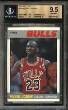 1987 Fleer MICHAEL JORDAN #59 Bulls BGS 9.5 Gem Mint *Dead Centered*