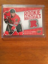 2007-08 Upper Deck Jonathan Toews Rookie Materials (Red Jersey)