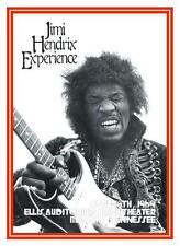 Jimi Hendrix Experience  *POSTER*  Memphis, TN 1969 Fender Stratocaster Master!