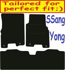 Deluxe Quality Car Mats for SsangYong Korando 95-07 ** Tailored for Perfect fit