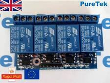 4 Channel 3.3V/5V 10A Relay Module for Arduino RPi ESP8266 +Optocoupler