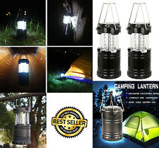 2 Portable Collapsible LED Lanterns Tac Light Lamps Emergency Camping As Seen TV