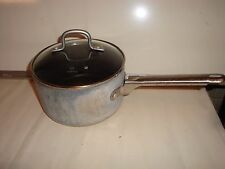 Calphalon 2-1/2 Qt. Hard-Anodized Sauce Pan With Glass Lid