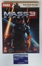 Guia Oficial Mass Effect 3, playstation 3, xbox 360, Pc. Nueva a estrenar.