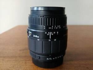 Sigma 28-80mm f/3.5-5.6 Macro- Pentax Mount