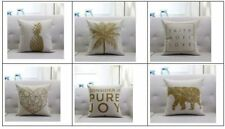 100% Linen Decorative Cushion Covers